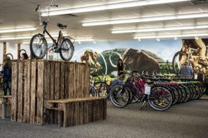 Fahrräder und E-Bikes im Werksverkauf Sachsenring Bike Manufaktur GmbH im Helmepark in Sangerhauen