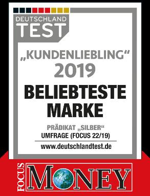 """Kundensiegel Sachsenring Bike Manufaktur - Kundenliebling """"Beliebteste Marke"""""""